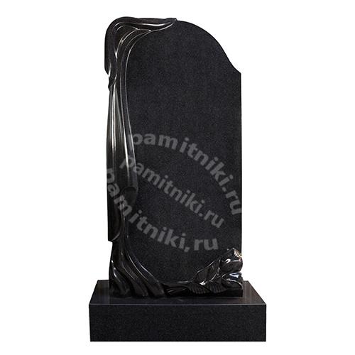 Памятник из гранита резной «Зеркало»