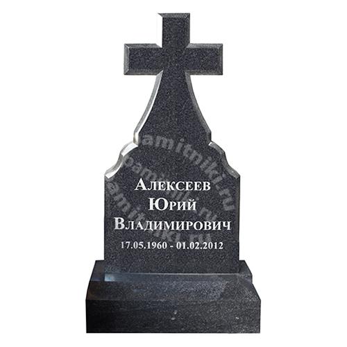 Памятник из гранита резной «Крест»