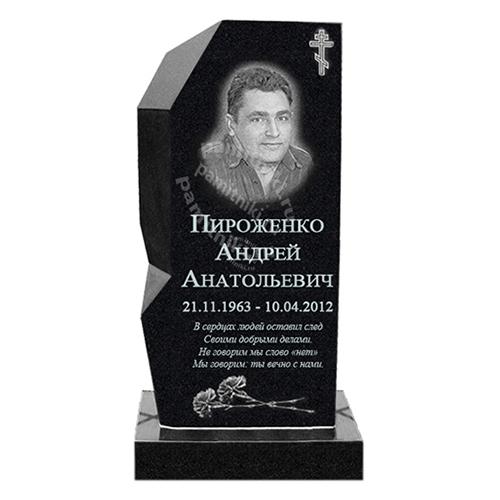 Памятник из гранита резной «Монолит»