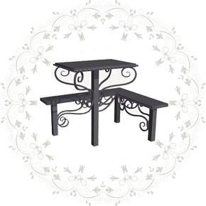 Столы лавки металлические