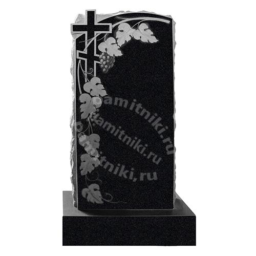 Памятник из гранита резной «Гроздья винограда» №2