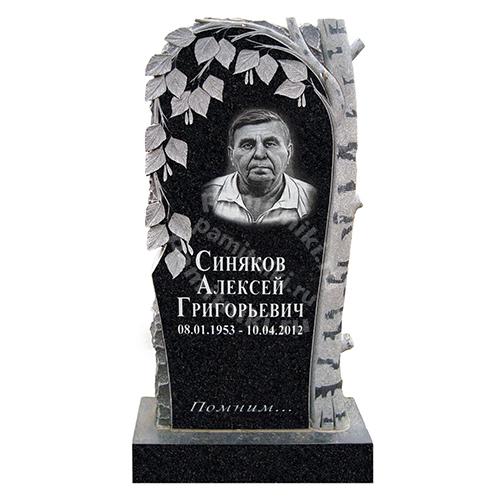 Памятник из гранита резной «Береза»