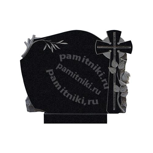 Памятник из гранита резной «Большой крест»