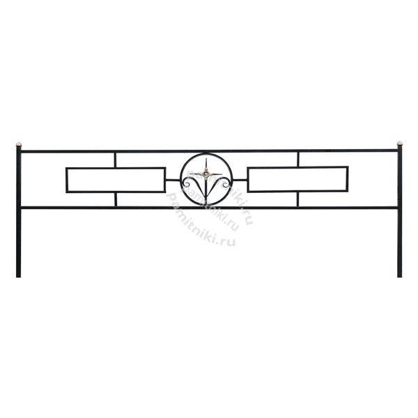 Ограда Прямоугольник 15 с кольцом