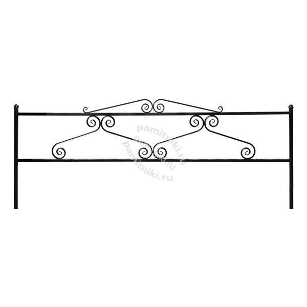 Ограда Вензель трубный 10